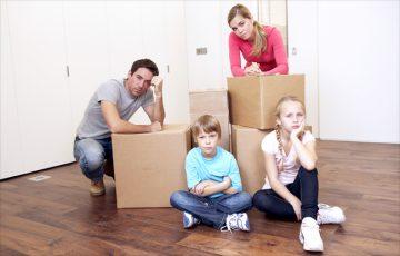 Как делится квартира при разводе если есть дети